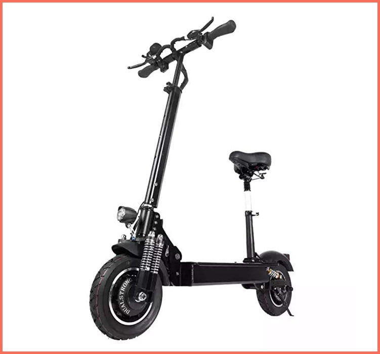 nanrobot d4+ electric scooter with seat