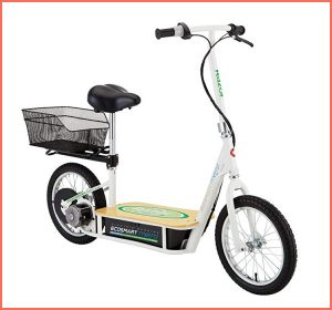 razor ecosmart long-range electric scooter