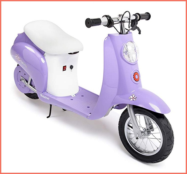 razor pocket mod electric scooter with seat