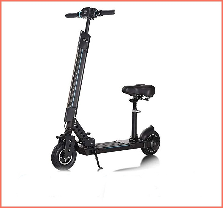 safstar electric scooter with seat
