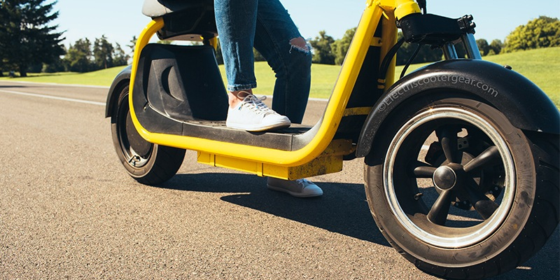 best electric scooter for adults with seat