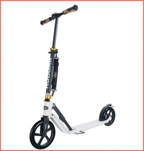 hudora lightweight electric scooter