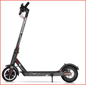 swagtron lightweight electric scooter