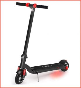t i anrun lightweight electric scooter