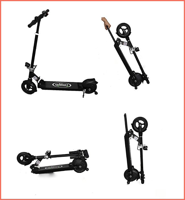 glion dolly electric scooter for kids