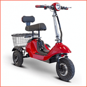 EW 19 sporty 3 wheel electric scooter