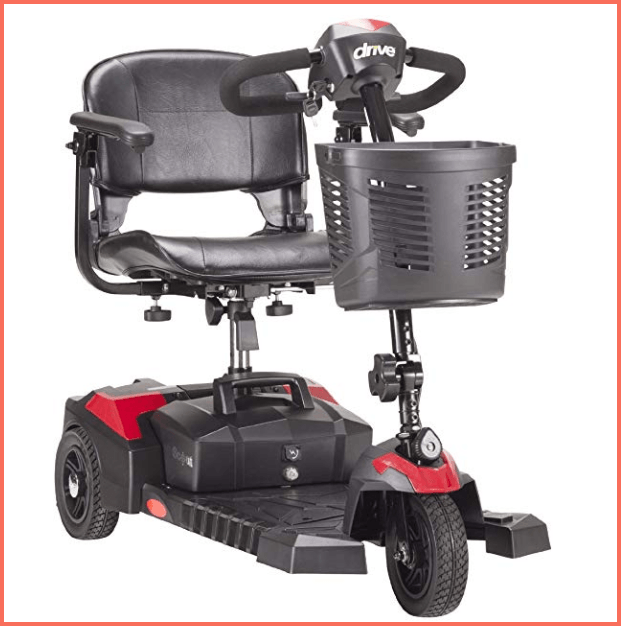 drive medical spitfire 3 wheel electric scooter