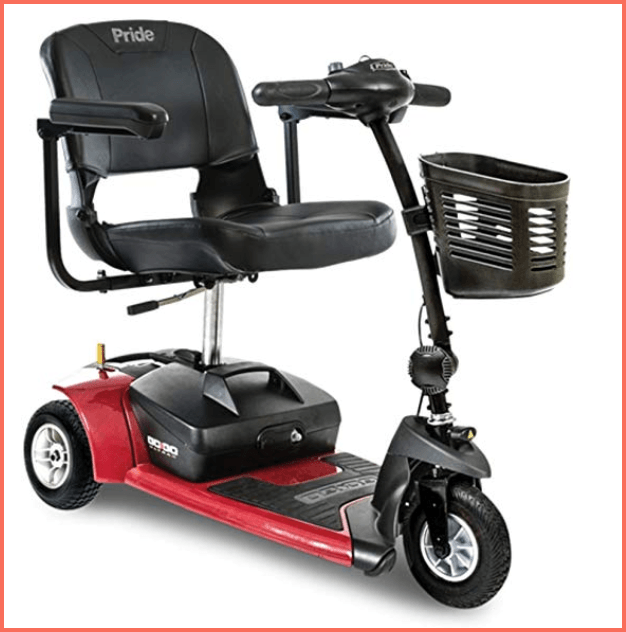 pride mobility go go ultra 3 wheel electric scooter