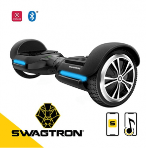 Swagtron hoverboard app enabled with bluetooth