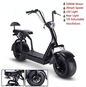 toxozers fat tire electric scooter