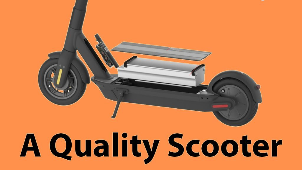 Ninebot Max A Quality Scooter
