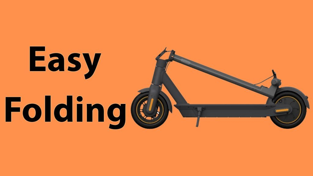 Segway ninbot Max Easy Folding
