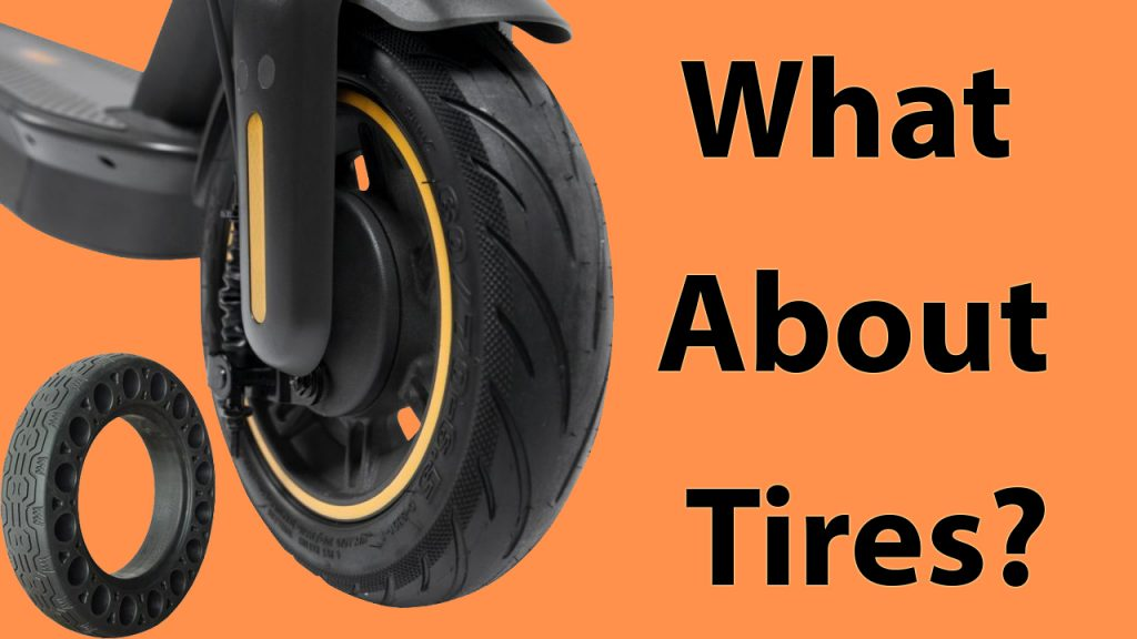 Segway Ninebot Max Tires Features