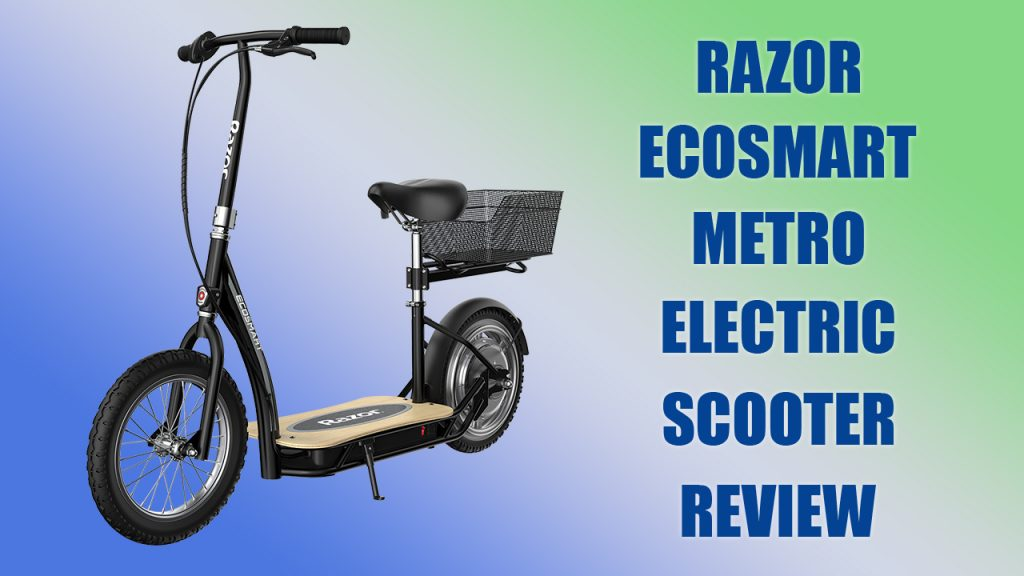 Razor Ecosmart Electric Scooter Review
