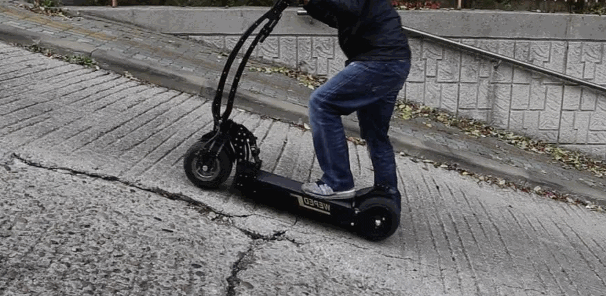 Can Electric Scooter Go Uphill