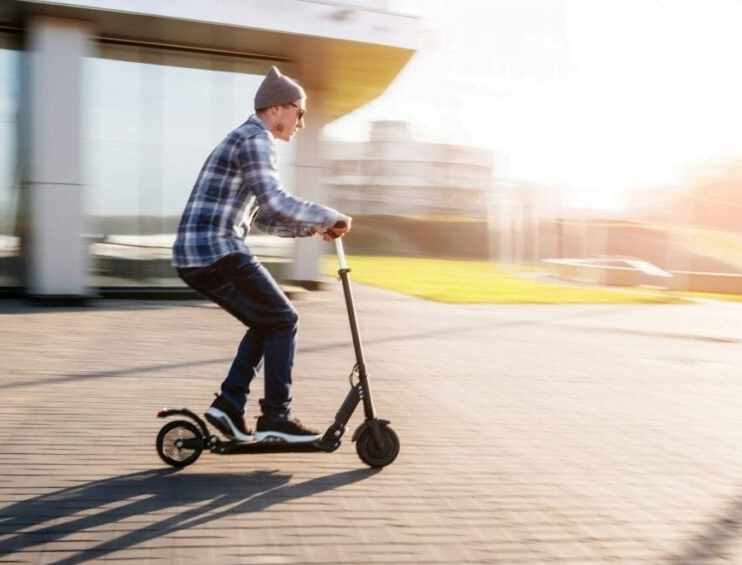 electric scooter speed