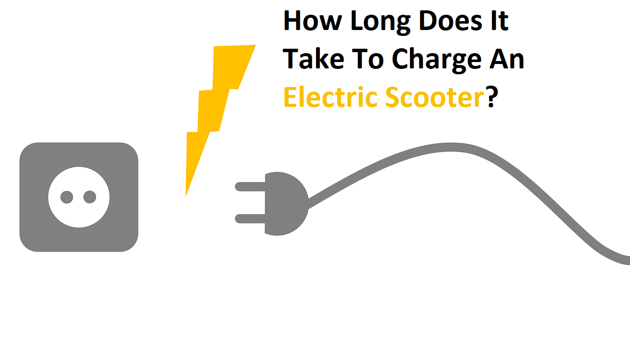 How Long Does It Take To Charge An Electric Scooter?